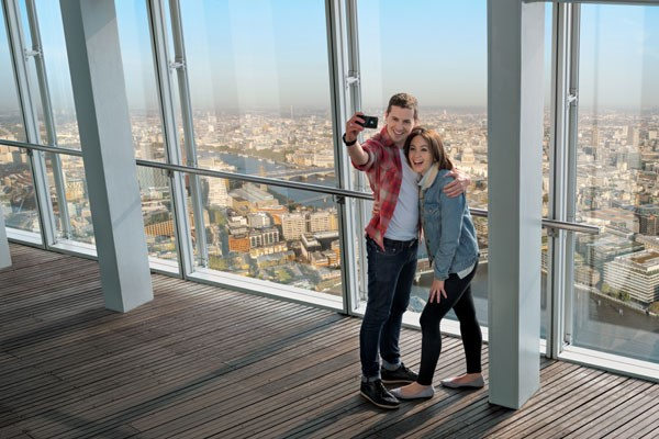 The View from The Shard for Two - PACKAGED