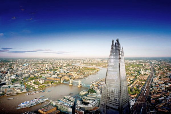 The View from The Shard with Cocktails for Two