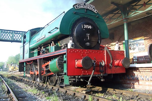 Two Hour Introductory Steam Train Driving on the Elsecar Heritage Railway