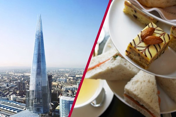 The View From The Shard And Afternoon Tea At Hilton Westminster For Two