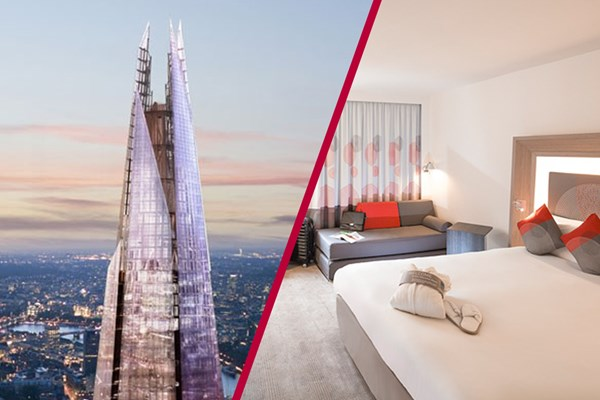 The View from The Shard and Overnight Stay at Novotel City South for Two