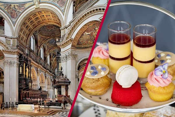 St Paul's Cathedral Visit and Afternoon Tea at The Swan at The Globe for Two