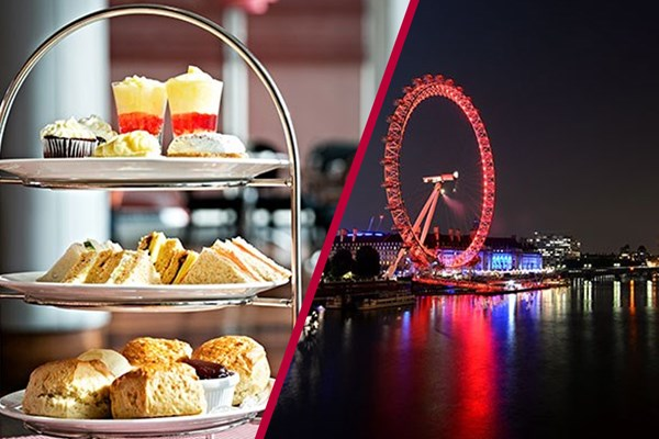 Coca-Cola London Eye Visit with Luxury Afternoon Tea for Two