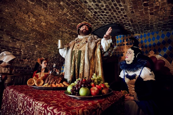 Medieval Banquet and Show for Two
