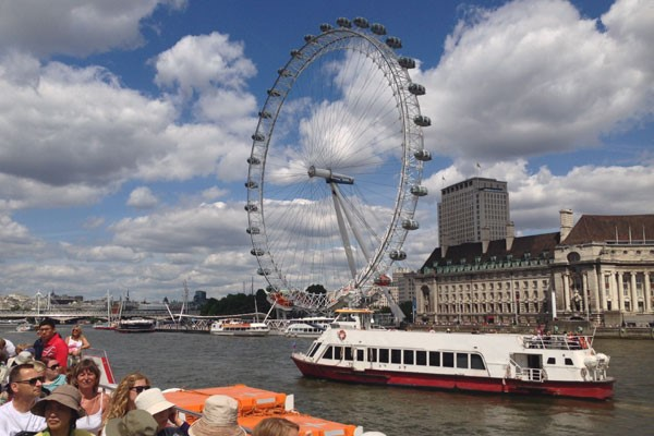 Coca Cola London Eye Tickets and River Cruise for Two