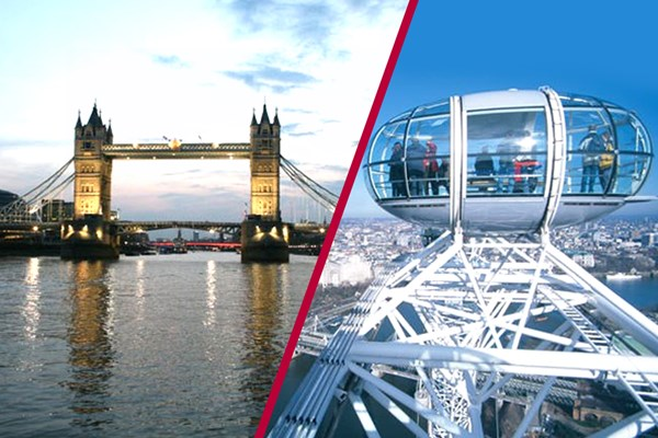 Coca-Cola London Eye Tickets and River Cruise for Two