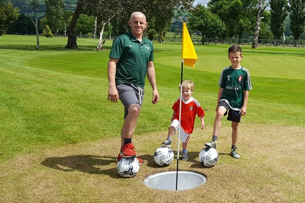 Entry To Foot Golf At North Wales Golf Course For Two Adults   Kids Go Free