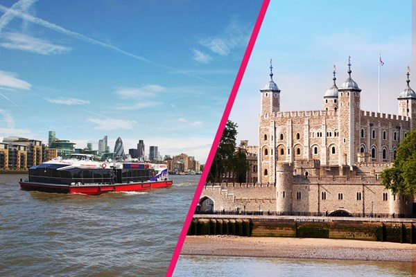 Tower of London Entry and Sightseeing Cruise for Two - Special Offer