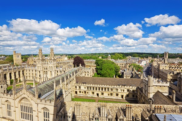 Inspector Morse, Lewis and Endeavour Tour of Oxford for Two