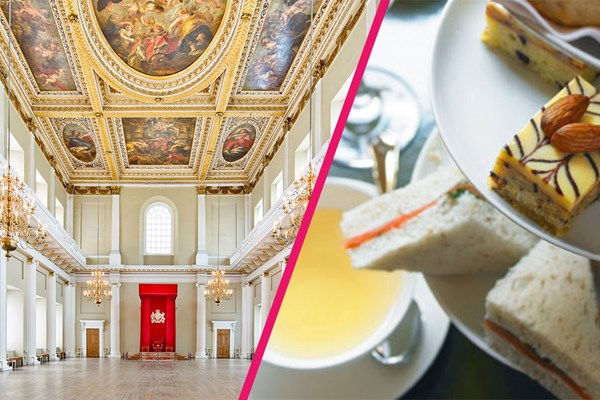 Entry to Banqueting House and Afternoon Tea for Two at Hilton Westminster