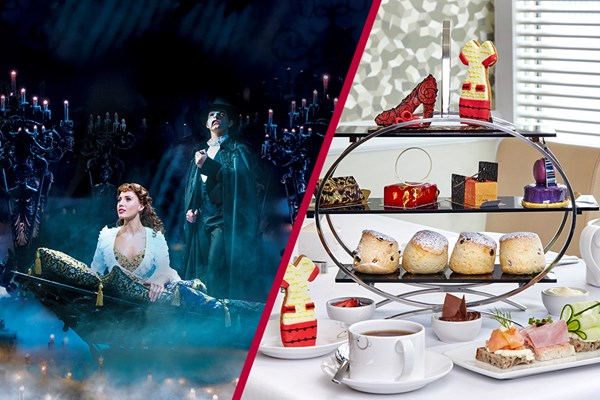 Stalls or Dress Circle Superior Theatre Show and Hilton Park Lane Chocoholic Tea