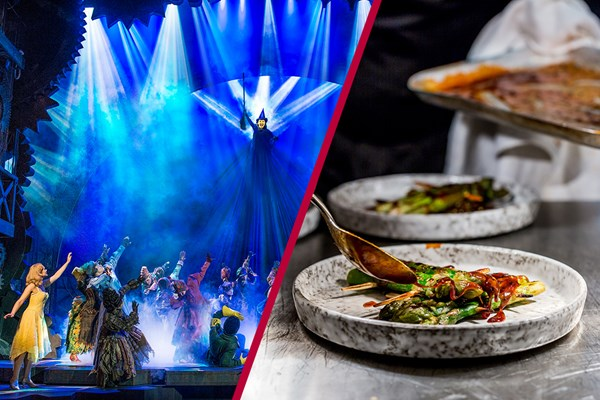 Upper Circle Theatre Show and 3 Course Meal at a Contemporary London Restaurant