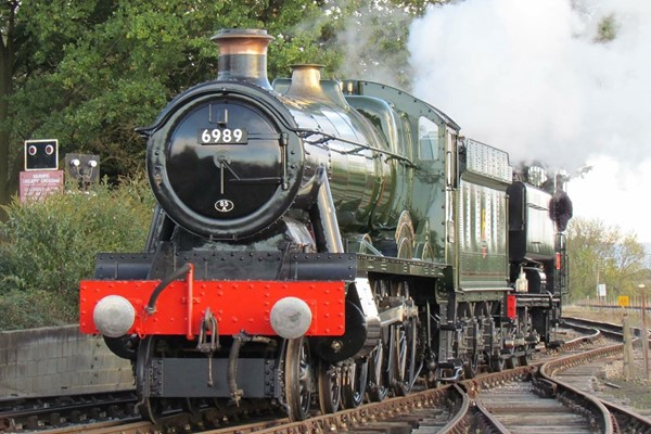 Chigwell Tours Guided Steam Train and Vintage Bus Ride with Afternoon Tea for Two