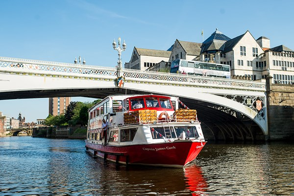 York Sightseeing River Cruise for Two