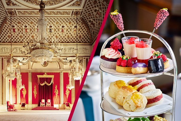 Buckingham Palace State Rooms And Royal Afternoon Tea At Rubens At The Palace