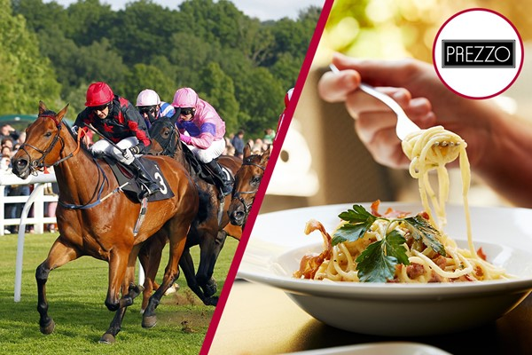 Buy Lingfield Raceday and Three Course Meal with Wine for Two at Prezzo