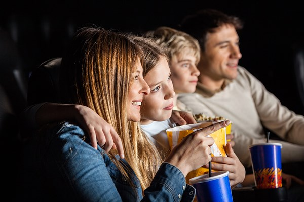 Family Cinema Tickets with Snacks
