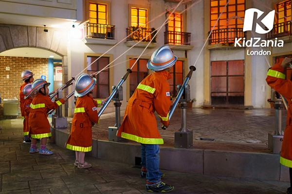 Entry to KidZania for One Adult and Two Children