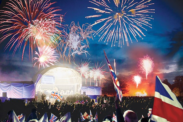 Battle Proms Classical Summer Concert for Two