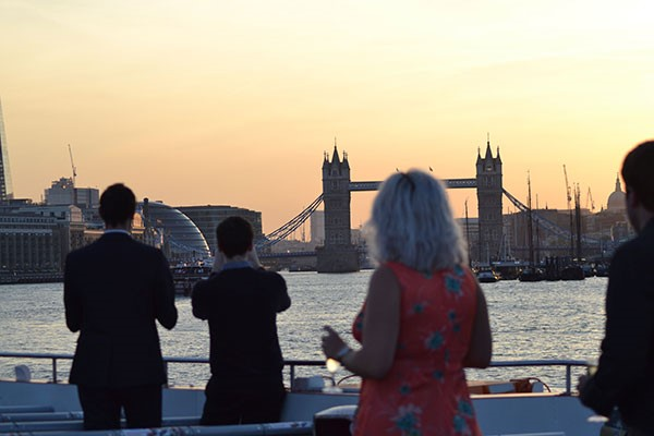 River Thames Cruise with Dinner and Elvis Tribute Act for Two
