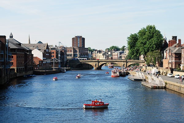 River Cruise of York with a Two Course Lunch for Two