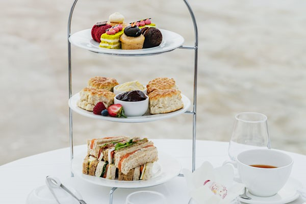 Bateaux Afternoon Tea Cruise on The Thames for Two Special Offer