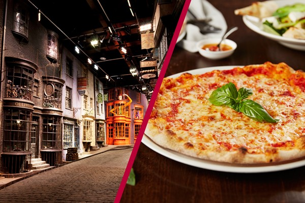 The Making of Harry Potter Tour and Three Course Meal for Two at Prezzo