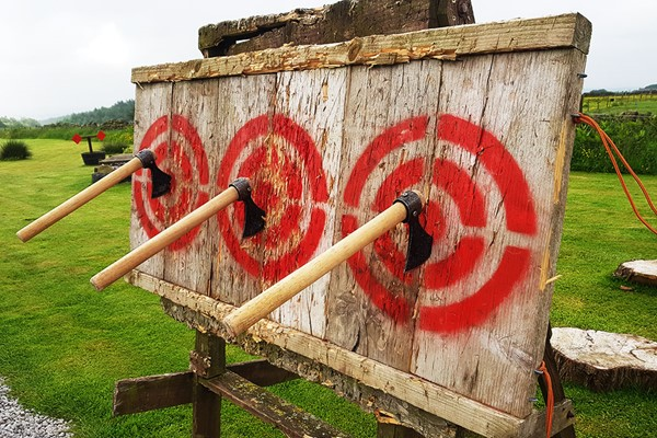 Axe and Knife Throwing Experience for Two