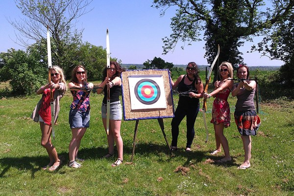 One Hour Archery Lesson for Two at High Harthay Outdoor Pursuits