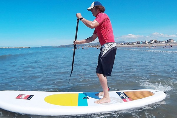 Stand Up Paddle Experience at Aber Adventures for One