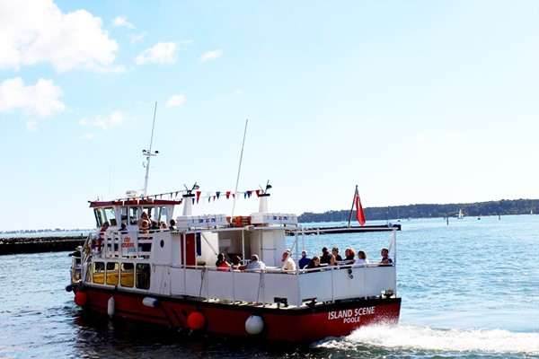 Jurassic Coastal Cruise from Poole Harbour for Two