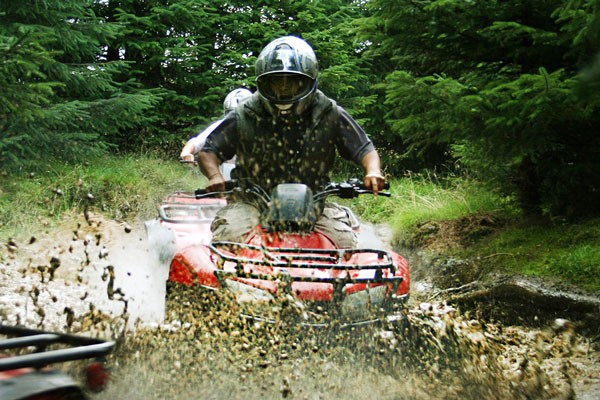 Quad Biking and Archery Experience for Two at Deeside Activity Park