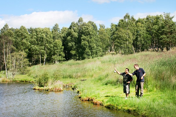 Target Shooting and Fly Fishing Experience for Two at Deeside Activity Park