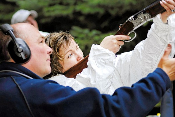 Clay Shooting Experience for Two at Deeside Activity Park