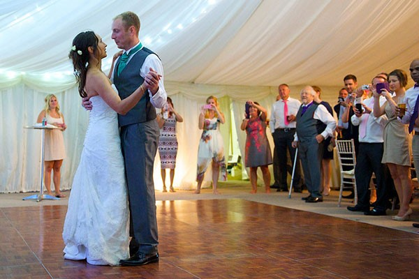 One Hour Private Wedding Dance Class for Two at Evolve School of Dance