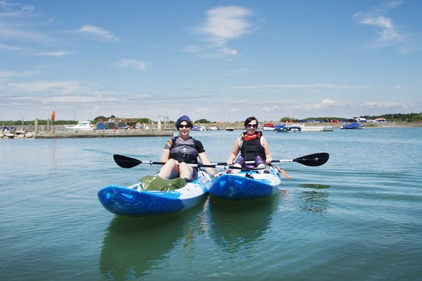 Watersports Experience for Two Improvers at The New Forest Paddle Sport Company