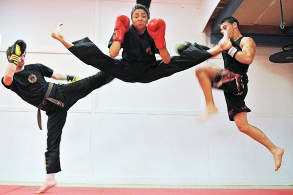 Three Shaolin Kickboxing Classes for One
