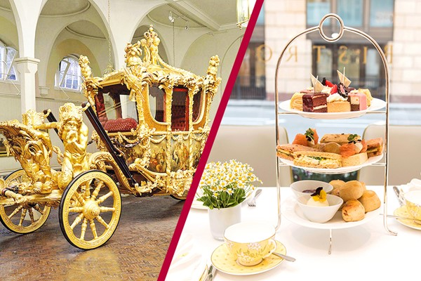 Buckingham Palace State Rooms, Royal Mews And Afternoon Tea At The Bistro,Taj 51
