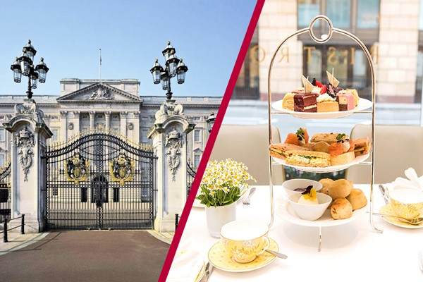 Buckingham Palace State Rooms and Afternoon Tea at The Bistro, Taj 51 for Two