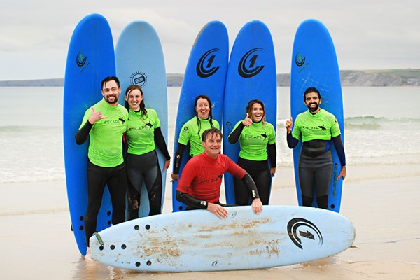 A Half Day Surf Experience For Two At Escape Surf School