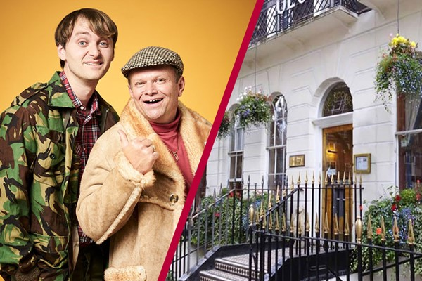 Only Fools Dining Experience with Overnight Stay at The George Hotel for Two