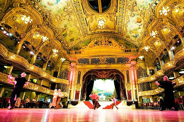 Blackpool's Tower Ballroom Entry with Afternoon Tea for Two