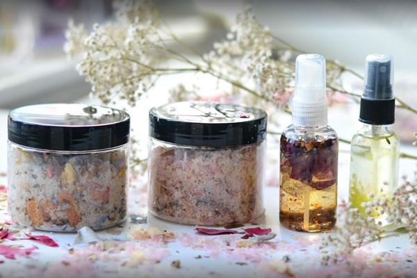 Homemade Beauty Products Workshop at Midas Touch Crafts