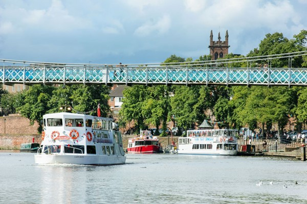 Two Hour Iron Bridge Cruise for Two at Chester Boat