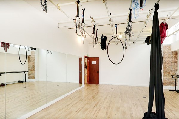 AntiGravity Class for Two at London Dance Academy