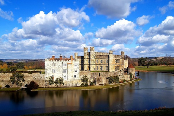 Full-Day Coach Tour to Leeds Castle, Canterbury, Dover and Greenwich for Two