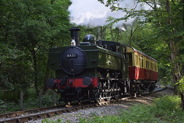Steam Train Ride with Cream Tea and Vintage Bus Ride for Two