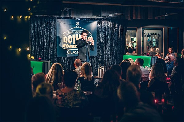 Comedy Night for Four at Rotunda Comedy Club Glasgow