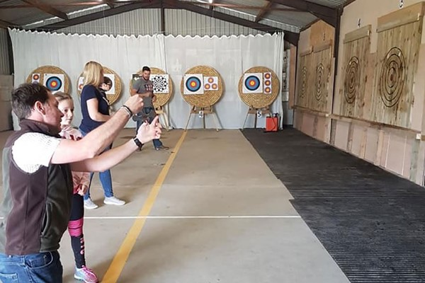 Axe Throwing for Two Adults at Aim Country Sports