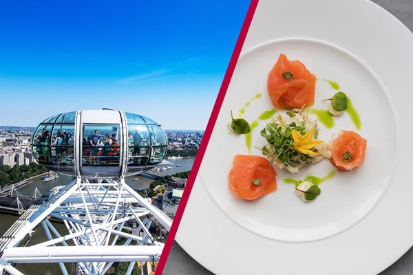 Coca Cola London Eye and Bateaux Lunch Cruise For Two